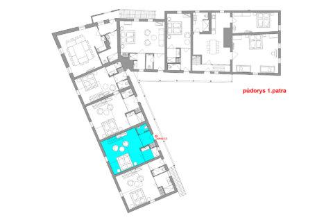 Maisonette-Zimmer Nr. 2