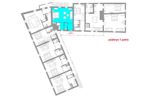 Dvoulůžkový pokoj č. 5